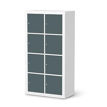 Möbeldekor für IKEA Kallax Regal 8 Türelemente | Möbelgestaltung Bedruckte  Klebe-Folie Möbel folieren | kreative Wohnideen Schlafzimmer-Möbel ...