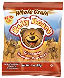 Readi-Bake BeneFIT 51% Whole Grain Pre-Packaged Belly Bears, Cinnamon Graham, 1 Ounce (Pack of 200)