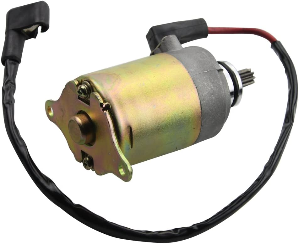 GOOFIT Starter Motor for GY6 150cc Chinese Scooters ATV and Go Karts Motors