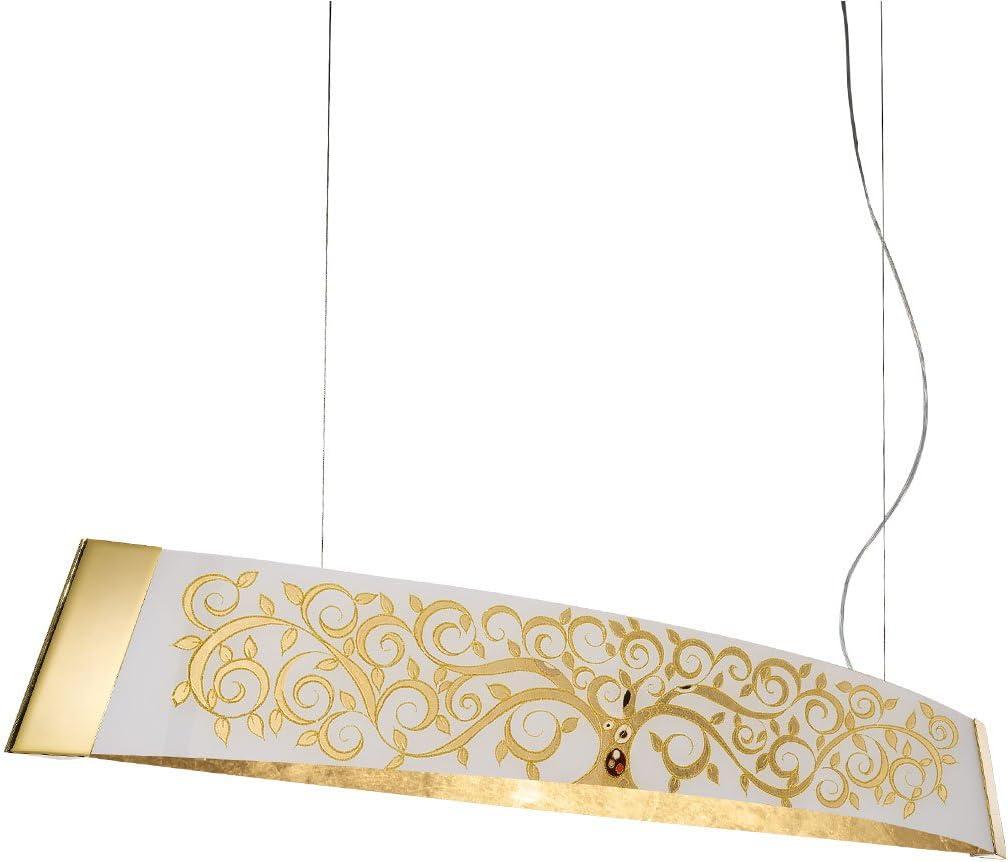 Barca Haz Lámpara de II Albero de Kolarz, de 2 focos, LED, Oro, 2295.32.3/al30-sd-li: Amazon.es: Iluminación