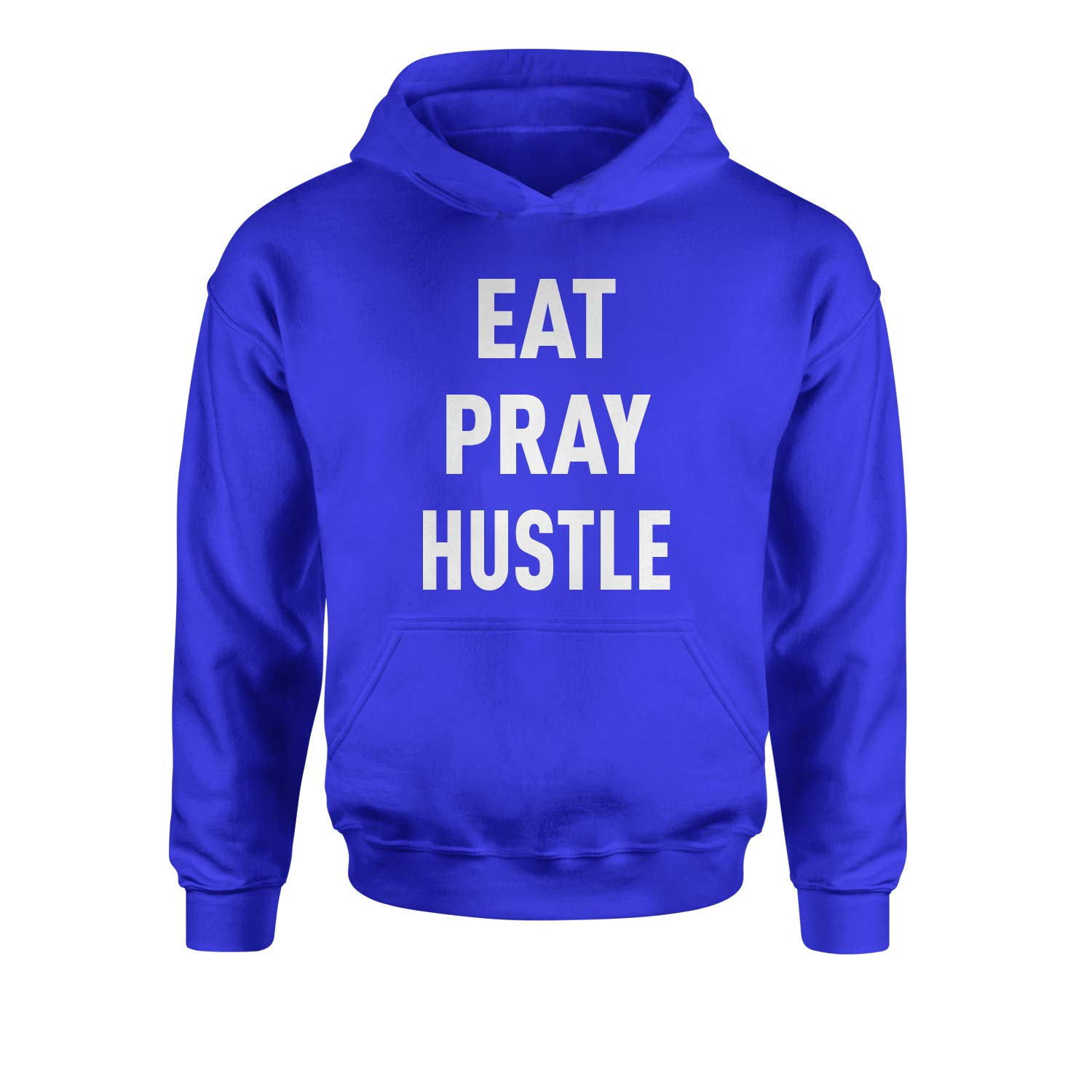 Expression Tees Eat Pray Hustle Youth-Sized Hoodie