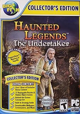 Haunted Legends THE UNDERTAKER COLLECTOR'S EDITION Hidden Object BONUS Game