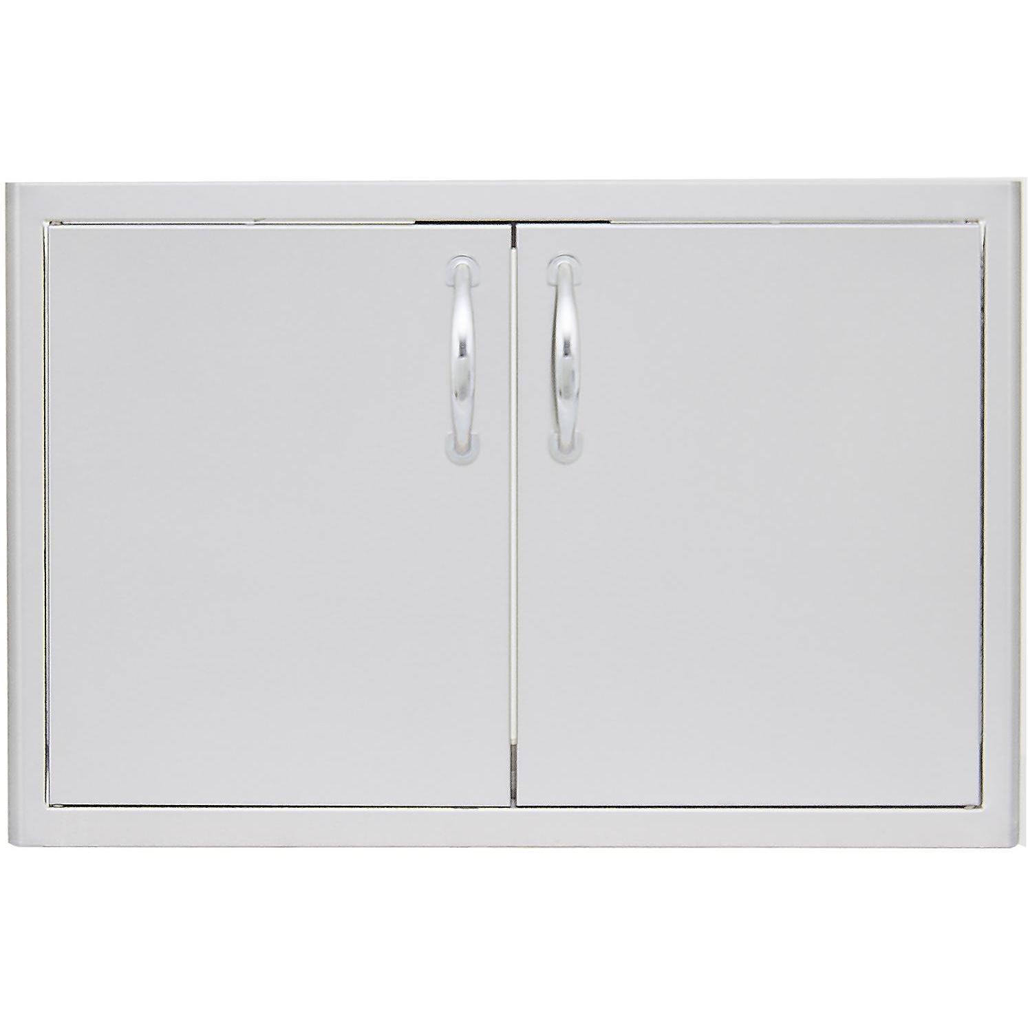 Double Access Door with Paper Towel Dispenser Size: 40'' W