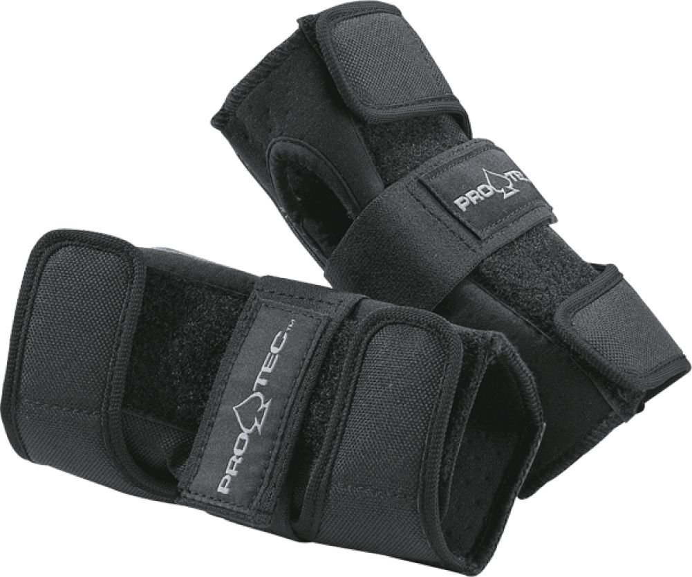 Protec Street Gear Skate and Bike Wrist Guards- JR (XS)Black