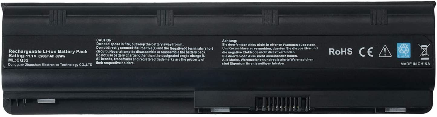Alipower 6-Cell MU06 593553-001 New Laptop Battery Replacement for HP G62 G32 G42 G42T G56 G72 G4 G6 G6T G7, Compaq Presario CQ32 CQ42 CQ43 CQ56 CQ62