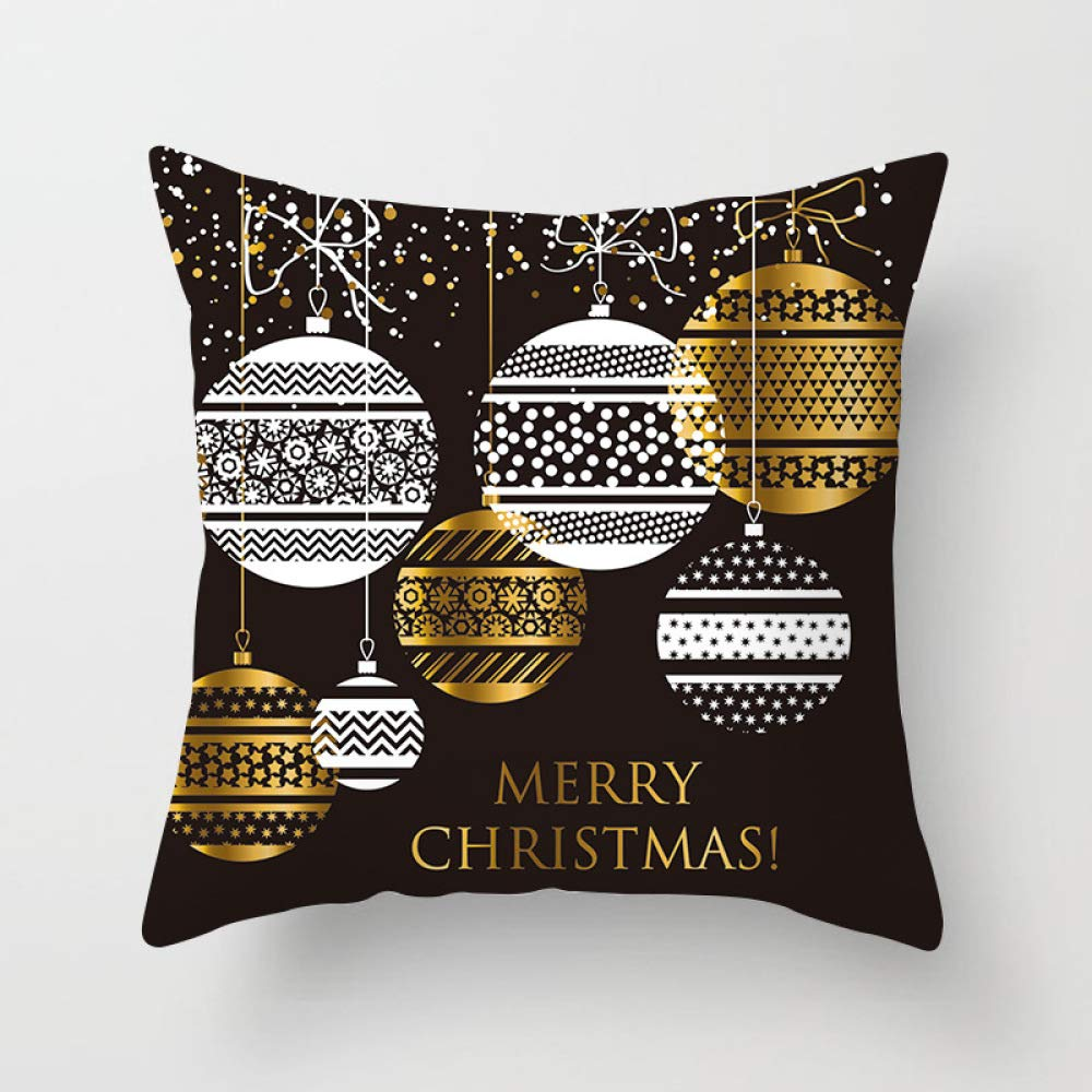FASTCXV Home Sacred Supplies Birthday Pillowcase Nordic Wind Pillow car Cushion Lumbar Pillowcase TPR083-27 4545cm by FASTCXV
