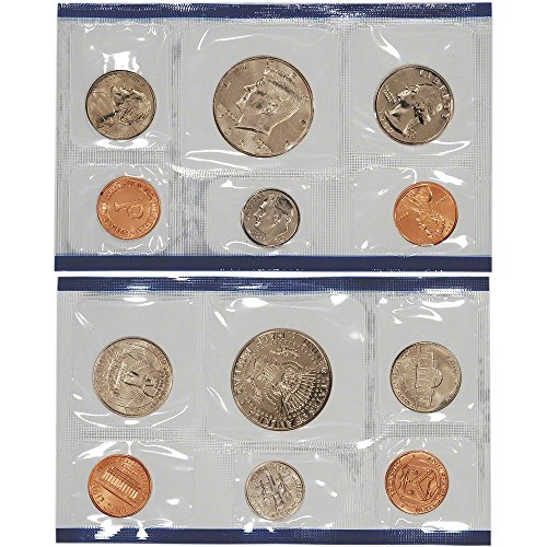 1992 US Mint Uncirculated Coin Set (U92) (Dollar Error Coin)