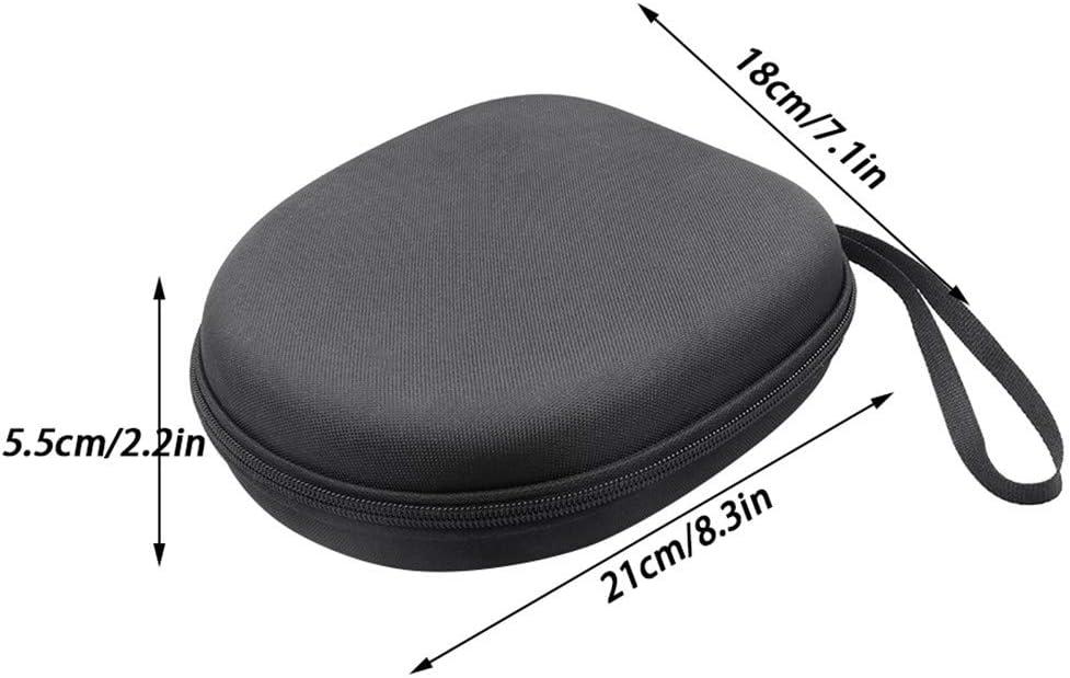 DLRUIHENGXIANGMU Headphone Storage Box Earphone Pack Head-Mounted Wireless Bluetooth Headset Box Large Capacity Shockproof Waterproof