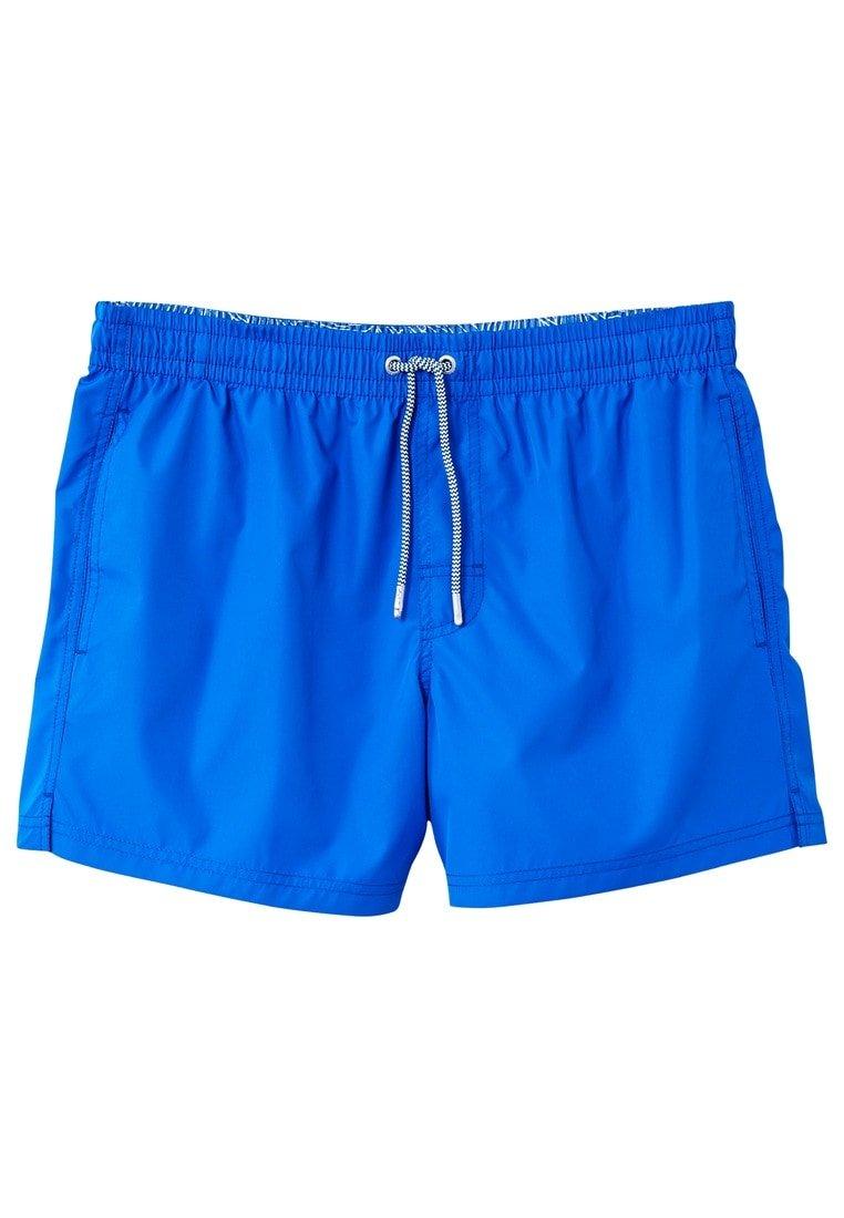 MANGO Men's Basic Swimsuit, Ink Blue, XS