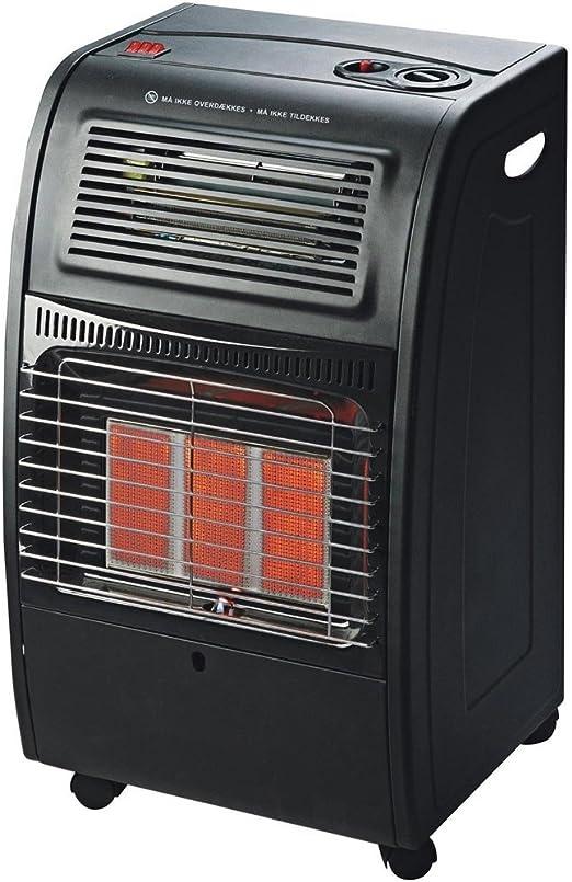 Estufa a gas GLP catalítica con rayos infrarrojos, de 4200 W y ventilada, Turbo 1500 W de DCG, modelo GH09