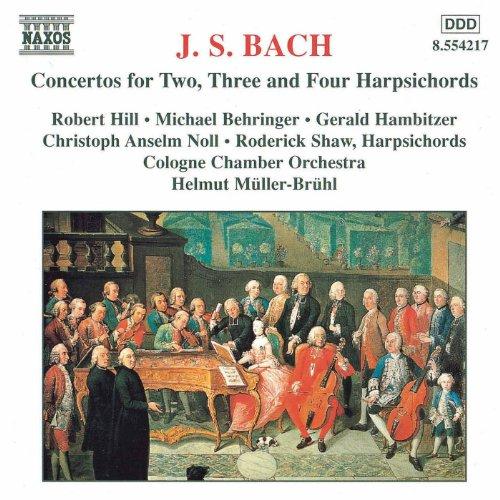 Bach, J.S.: Concertos for Two, Three and Four Harpsichords