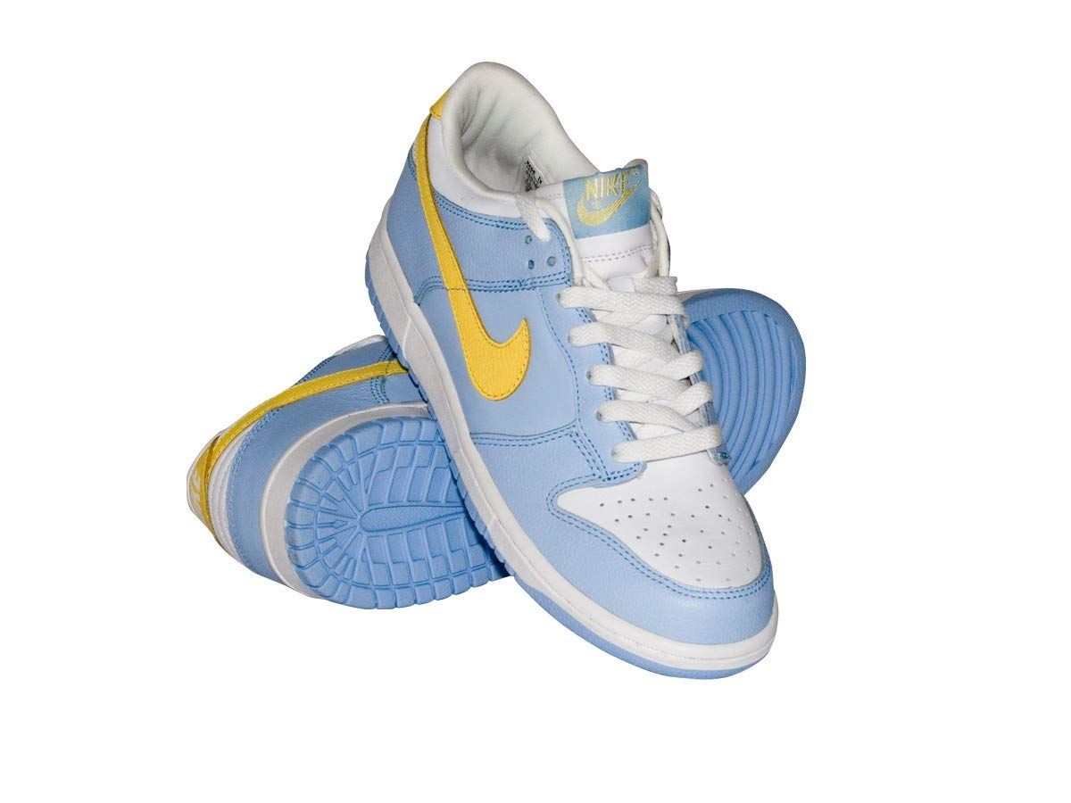 official photos bee51 0f00c Amazon.com  NIKE Dunk Low Sneakers Women Shoes Blue White 309324-471 Size  10  Sports   Outdoors
