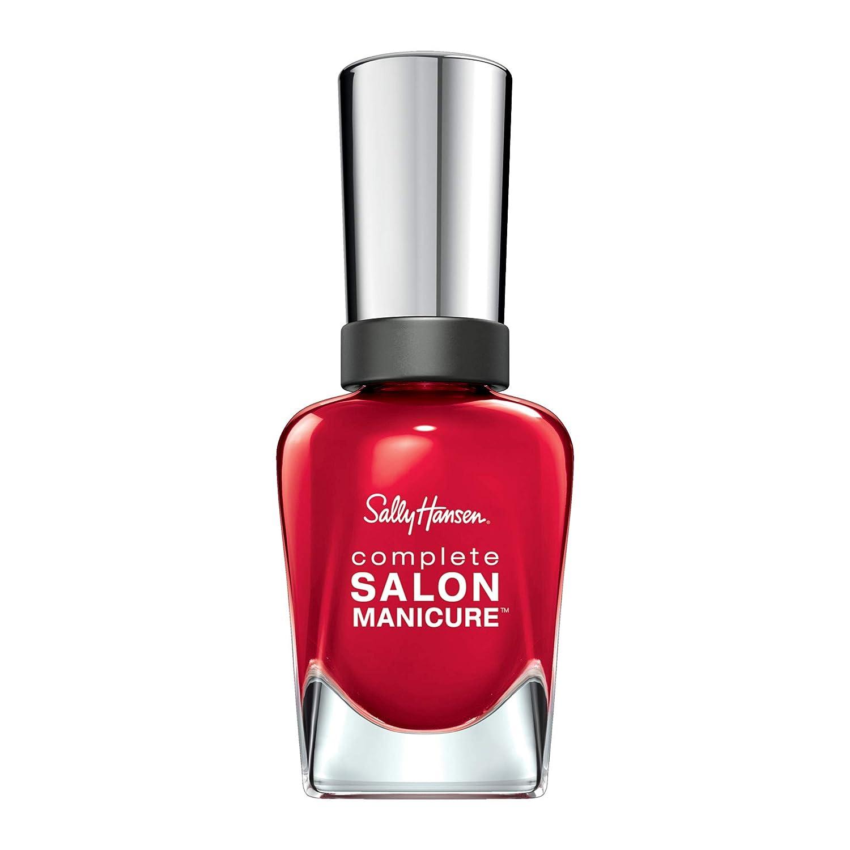 Sally Hansen Complete Salon Manicure Nail Polish, Red My Lips, 0.5 Fluid Ounce