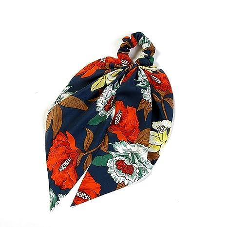 Cintas de Pelo para Mujer, Red Elegante Impresión De Flores Totem ...
