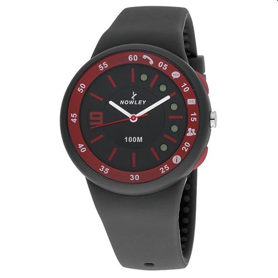 Smartwatch de Nowley que, conectado al móvil vía bluetooth.: Amazon.es: Relojes