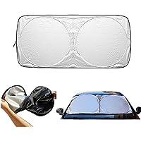 XYXK Auto Car Windshield Sunshade Front Window Foldable Visor Sun Shade Cover Block