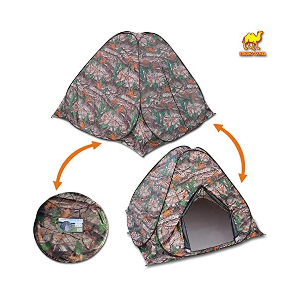Strong-Camel-Portable-Camouflage-Camping-Hiking-Instant-Tent-pop-up-23-Persons-Mosquito-Prevention-Waterproof