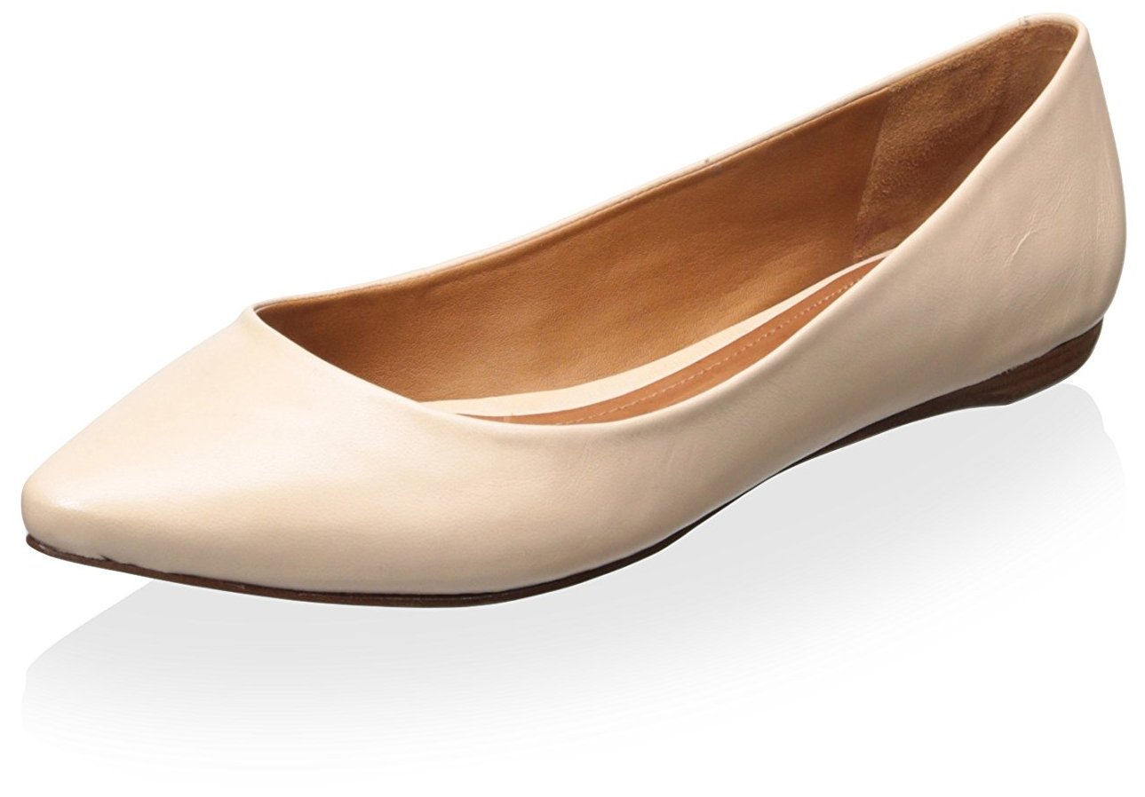 SCHUTZ Women's Pointy Toe Flat B01E583QPS 8 B(M) US|Bellini