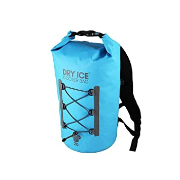 Dry Ice Cooler Mochila Nevera Portátil 20 Litros Turquesa Bolsa ...