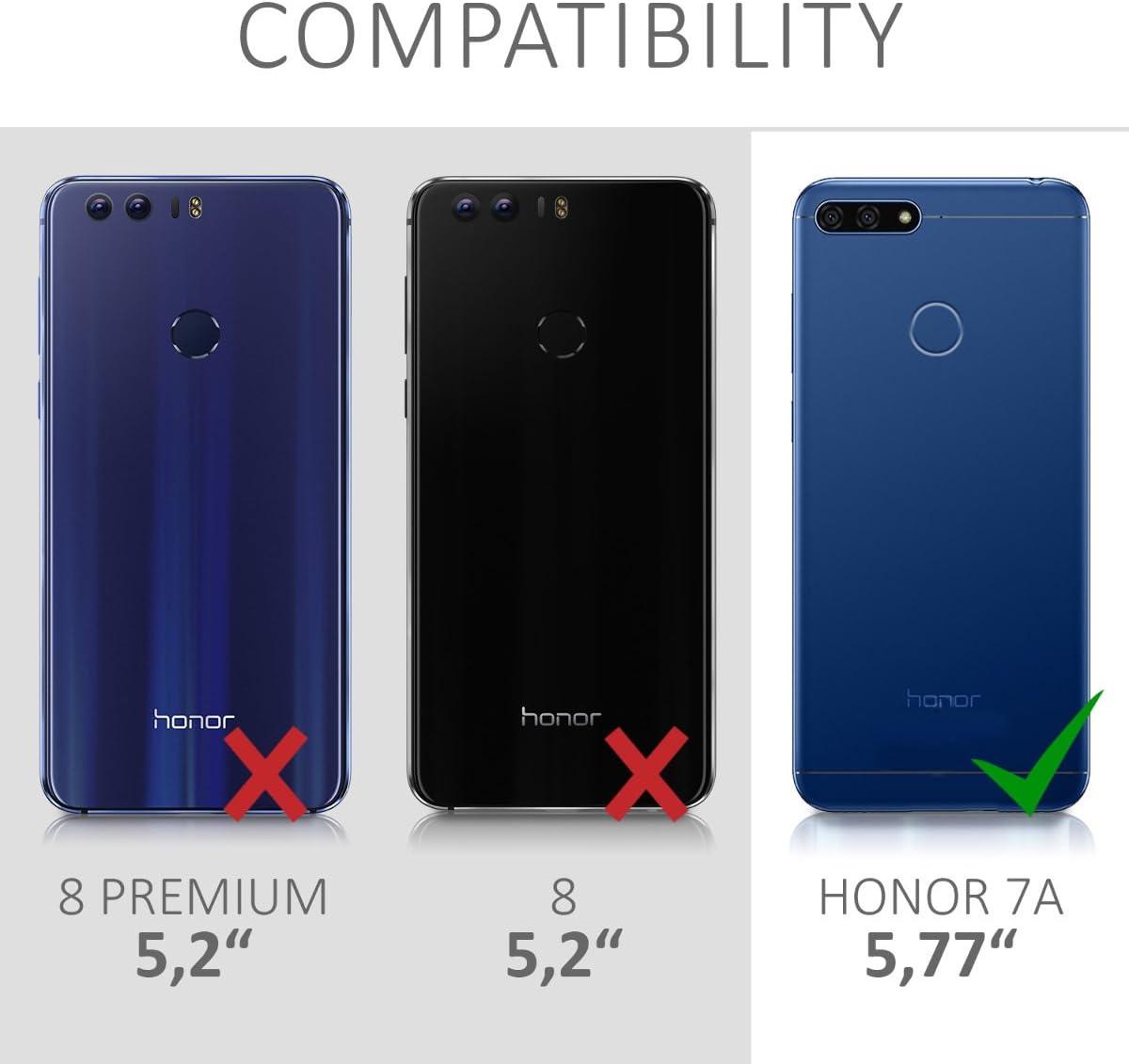 kwmobile Funda Compatible con Huawei Honor 7A: Amazon.es: Electrónica