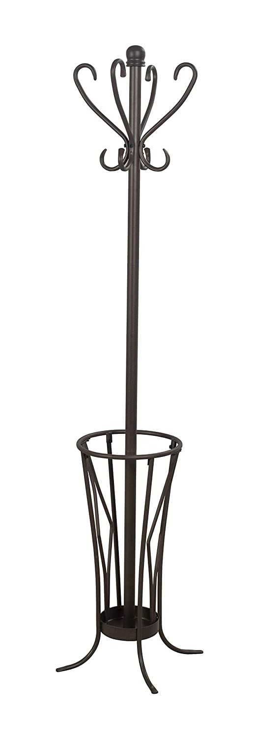 Leisure Space Coat Rack with Umbrella Stand (Antique) SHIN CREST PTE. LTD. R58002P-AN