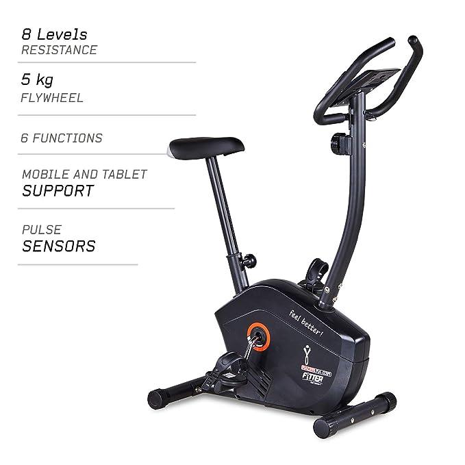 FYTTER - Bicicleta Estática Ra-03R Generation II: Amazon.es ...