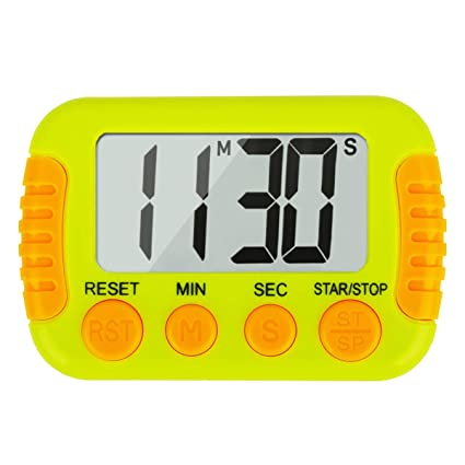 Buy Digital Kitchen Timers For Cooking Loud Ring Classroom Timers For Teachers Green Online At Low Prices In India Amazon In
