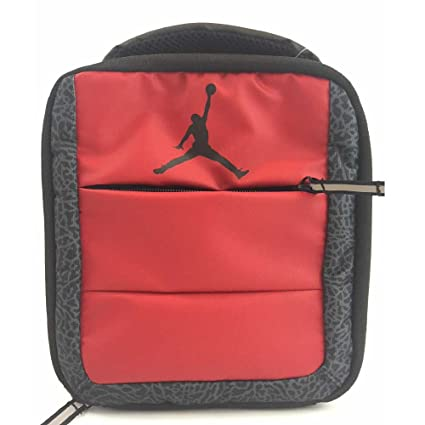 17b15f1e77ae Image Unavailable. Image not available for. Color  Jumpman 23 insulated  lunch bag Red