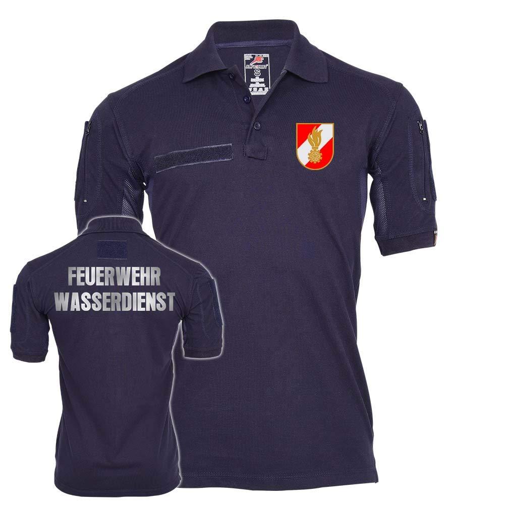 Copytec Tactical Polo Feuerwehr Wasserdienst Österreich Dienst Dienstzeit Einsatz  25594
