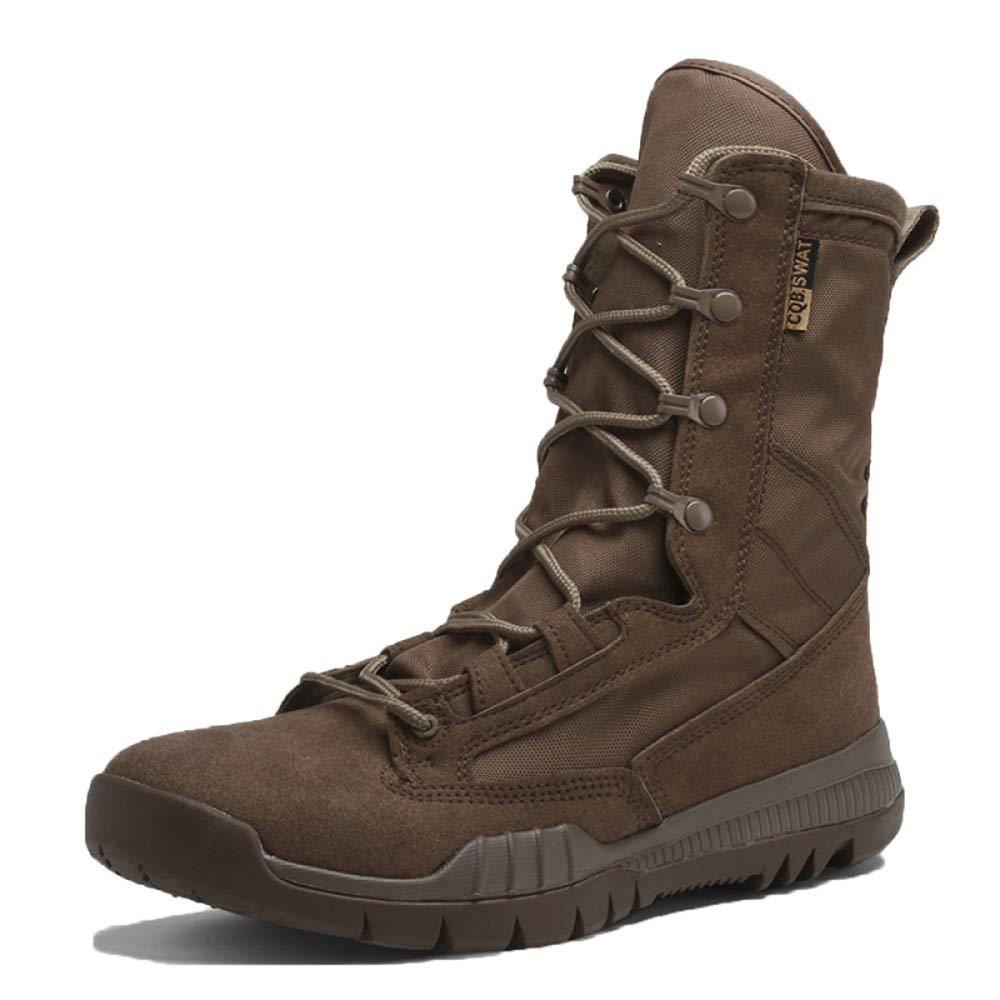 MYXUA Herrenstiefel Tactical Stiefel Men Desert Outdoor Schuhe Armee Desert Stiefel Hohe Hilfe