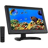 Eyoyo 12 Inch 16:9 Mini TFT LCD HDMI HD Monitor Screen 1366x768 Resolution with HDMI VGA BNC AV Input for PC Display CCTV Home Security (12 Inch)