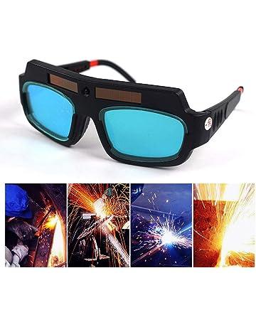 FOONEE Gafas de Soldadura con Oscurecimiento Automático Solar, Gafas de Soldadura Lentes de Soldadura con