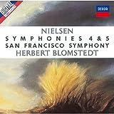 ニールセン:交響曲第4番「不滅」&第5番