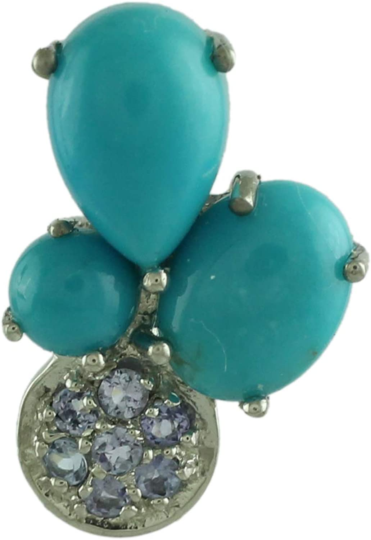 Natural Gemstone 925 Sterling Silver Pendant