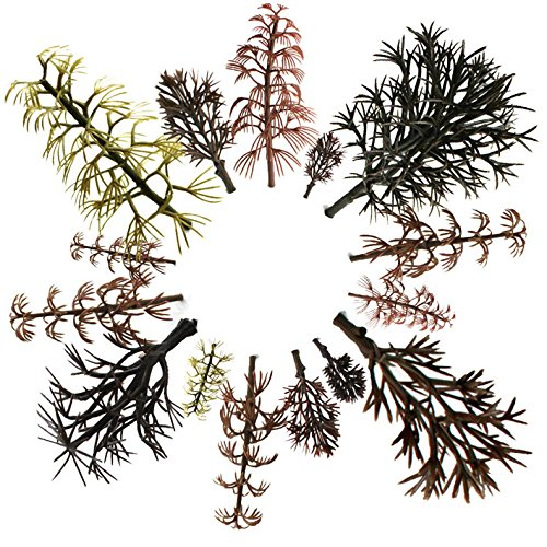 29pcs Mixed Model Trees Without Leaves 1.5-5.5 inch(4 -14 cm), OrgMemory Ho Scale Trees, Diorama Models, Model Train Scenery, Architecture Trees, Model Railroad Scenery with No Stands …