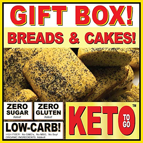 KETO BAKERY LOW CARB PIZZA & FAT BOMB HOLIDAY GIFT BOX ~ 75 Servings! GLUTEN FREE! NO SUGARS ADDED! HIGH FAT LOW CARB DESSERT MEALS, FAT BOMBS by KETO TO GO (Image #3)