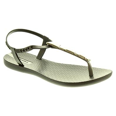 0baf3f537263 Ipanema Ladies Charm Sandals in Black  Amazon.co.uk  Shoes   Bags