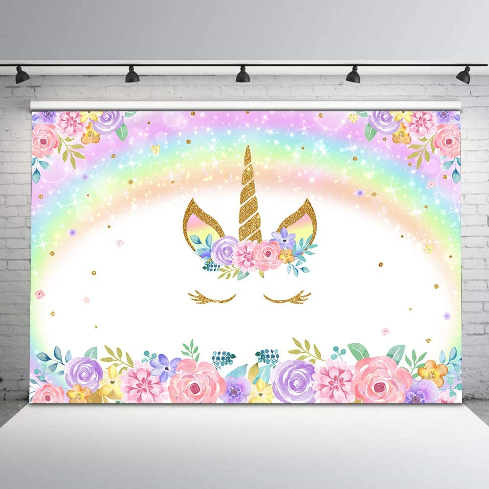 Unicorn Party Backdrops 7×5 Ft Page Two