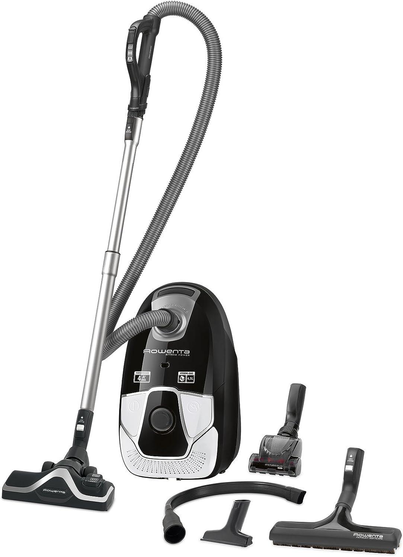 Rowenta X-TREM RO6887 - Aspiradora (550 W, Aspiradora cilíndrica, Secar, Bolsa para el polvo, 4,5 L, Filtro higiénico): Amazon.es: Hogar