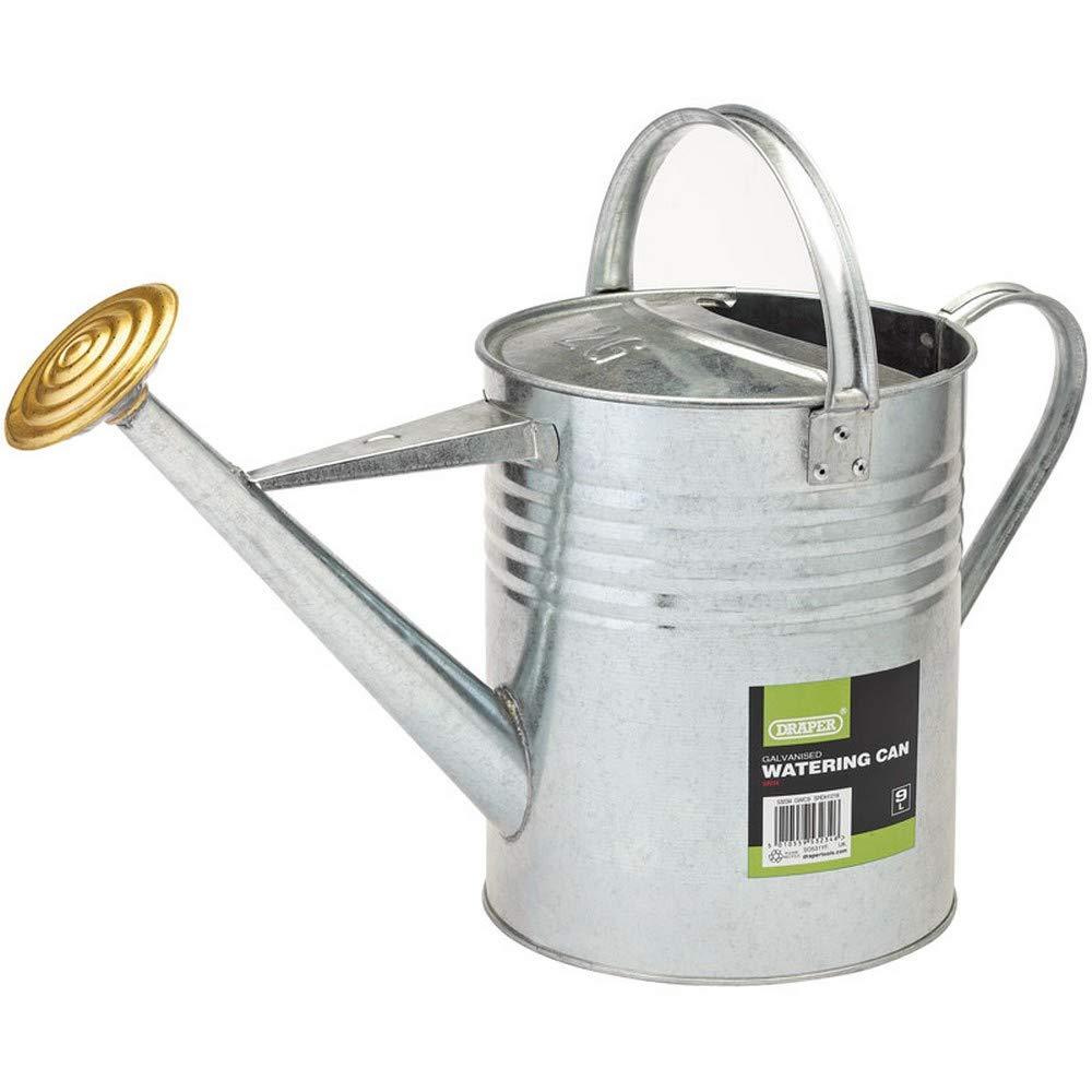 Draper 53234 Galvanised Watering Can, 9L FLAT Hand Tools SCREWDRIVER Screwdrivers & Allen Keys
