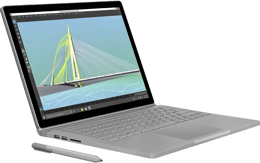 Microsoft 13.5-inch i7 256GB Surface Book (Factory Refurbished) on Woot!
