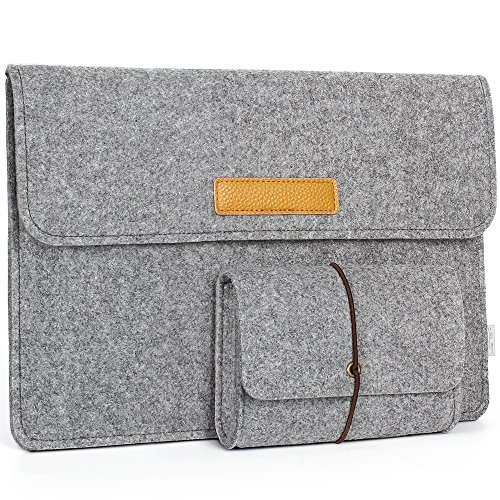 JSVER 13 Inch Laptop Sleeve Felt Protective Case MacBook Air/Pro Retina, Ultrabook