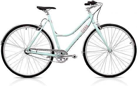 Finna Cycles Breeze Bicicleta, Mujer, Turquesa (Fresh Cupcake), M ...