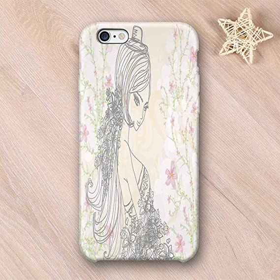 1ca6706642 Amazon.com: Girls Room Decor Elegant Compatible with iPhone Case ...
