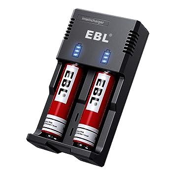 Amazon.com: EBL Cobo Batería 18650: Electronics