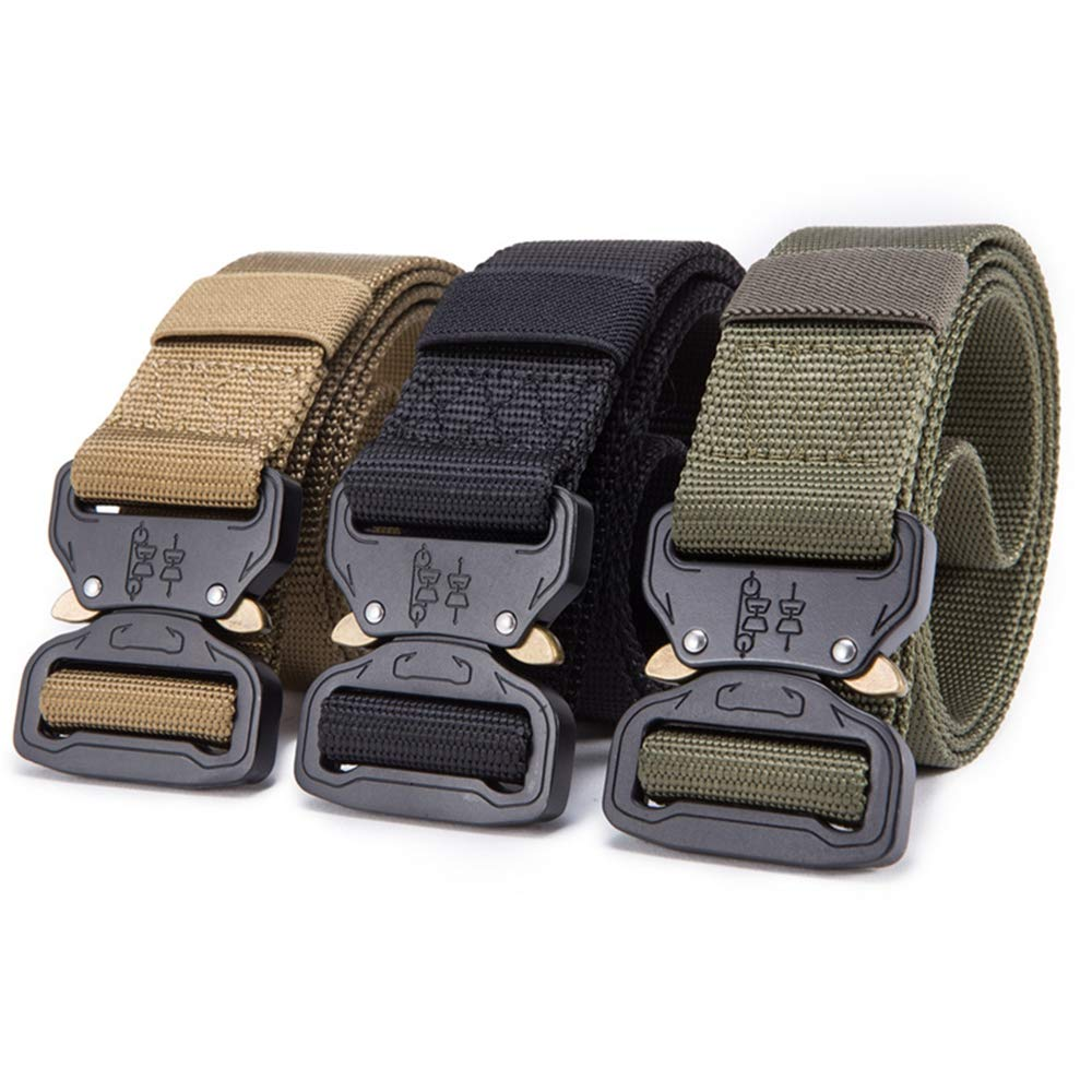 ZFADDS New Nylon Belt Men Army Tactical Belt Molle Military Swat Combat Belts Knock Off Waist Tactical
