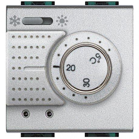 Bticino Livinglight Nt4442 - Ll-Termostato+Con 230V 2M Tech: Amazon.es: Industria, empresas y ciencia