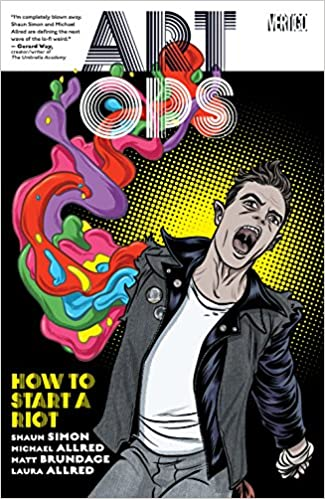 Art Ops Vol. 1 by Shaun Simon, Michael Allred, & Matt Brundage | books, reading, book covers