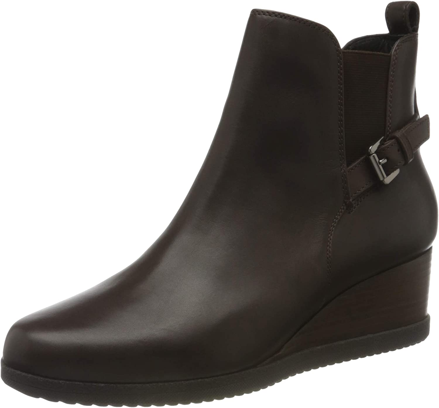 Geox D Anylla Wedge C, Ankle Boot Mujer