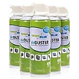 GreenBlue GB400 Air Duster Reinigung Druckluft Spray 400ml Druckluftspray Druckluftreiniger (3)